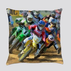 Motocross Everyday Pillow
