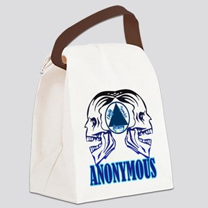 AASkulls Canvas Lunch Bag