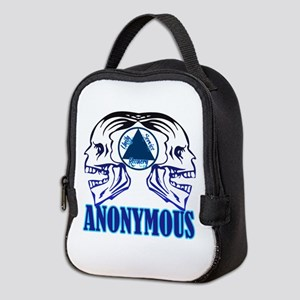 AASkulls Neoprene Lunch Bag