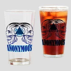 AASkulls Drinking Glass
