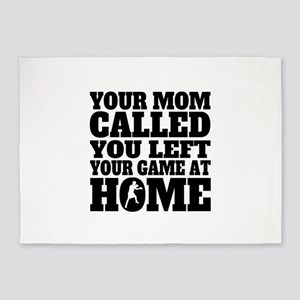 You Left Your Game At Home Boxing 5'x7'Area Rug