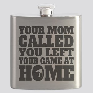 You Left Your Game At Home Billiards Flask