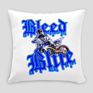 Bleed Blue 2 Everyday Pillow