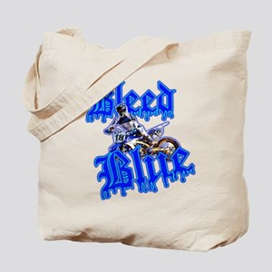 Bleed Blue 2 Tote Bag