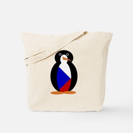 Penguin of the Chech Republic Tote Bag
