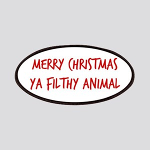 Merry Christmas Ya Filthy Animal Patch