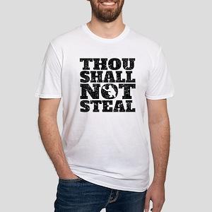 Thou Shall Not Steal Baseball Catcher T-Shirt