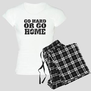 Go Hard Or Go Home Rowing Pajamas