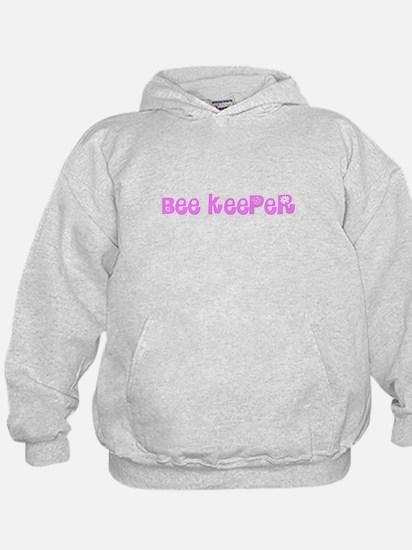 Bee Keeper Pink Flower Design Sweatshirt