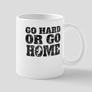 Go Hard Or Go Home Basketball Mugs