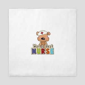 The World's Best Nurse Queen Duvet