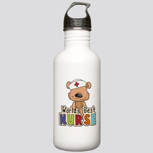 The World's Best Nurse Stainless Water Bottle 1.0L