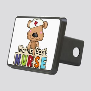 The World's Best Nurse Rectangular Hitch Cover