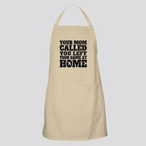 You Left Your Game At Home Snowboarding Apron