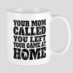 You Left Your Game At Home Snowboarding Mugs