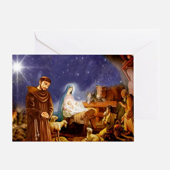 1 Blank Christmas Greeting Cards