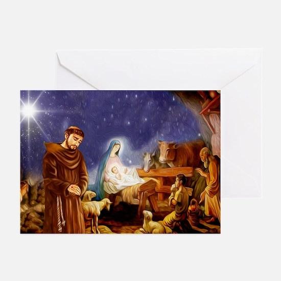 Blank Christmas (pk Of 10) Greeting Cards