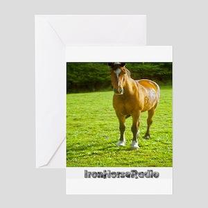 IHRA apparel Greeting Card