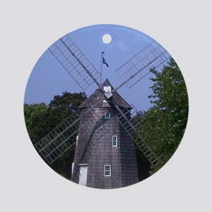 Windmill  Ornament (Round)
