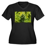 Joseph OG Women's Plus Size V-Neck Dark T-Shirt