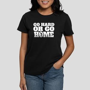 Go Hard Or Go Home Golf T-Shirt