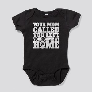 You Left Your Game At Home Hockey Baby Bodysuit