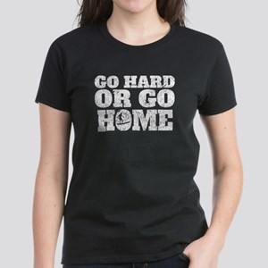 Go Hard Or Go Home Surfing T-Shirt