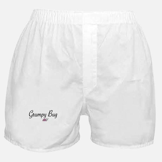 Grumpy Bug Boxer Shorts