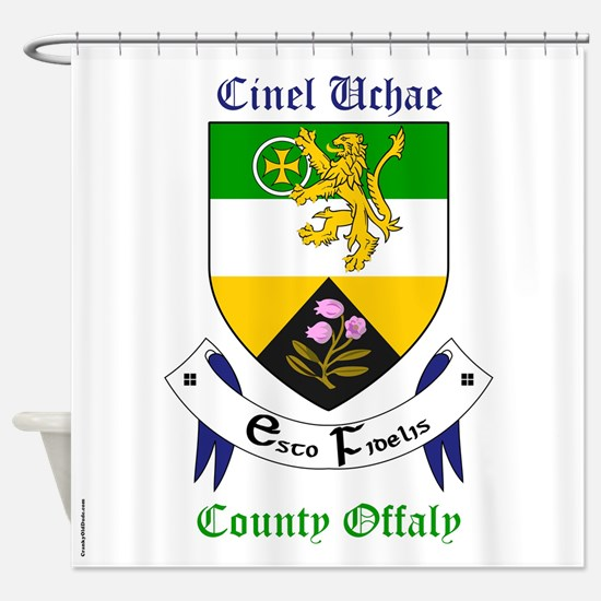 Cinel Uchae - County Offaly Shower Curtain