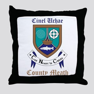 Cinel Uchae - County Meath Throw Pillow