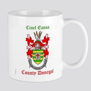 Cinel Eanna - County Donegal Mugs