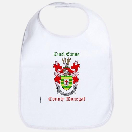 Cinel Eanna - County Donegal Bib
