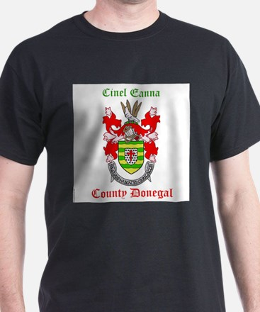 Cinel Eanna - County Donegal T-Shirt
