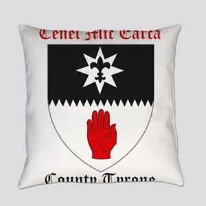Cenel Mic Earca - County Tyrone Everyday Pillow