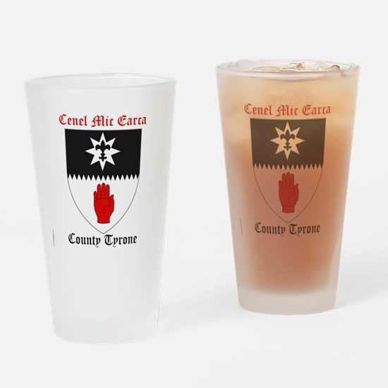 Cenel Mic Earca - County Tyrone Drinking Glass