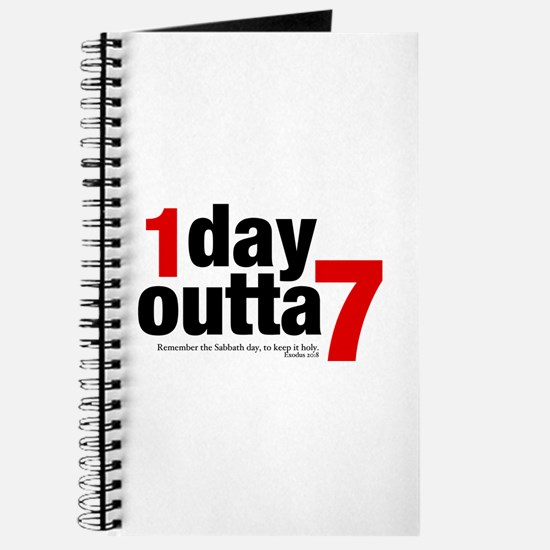 1 Day Outta 7 Journal