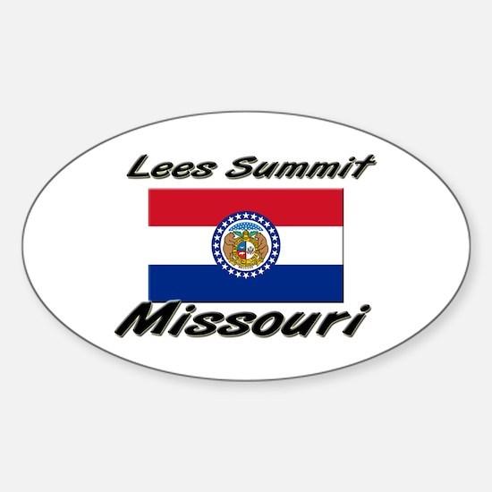 Lees Summit Missouri Oval Decal