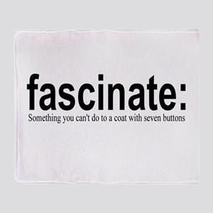fascinate Throw Blanket