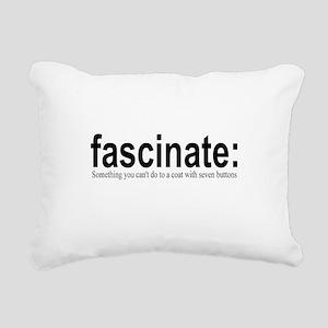 fascinate Rectangular Canvas Pillow