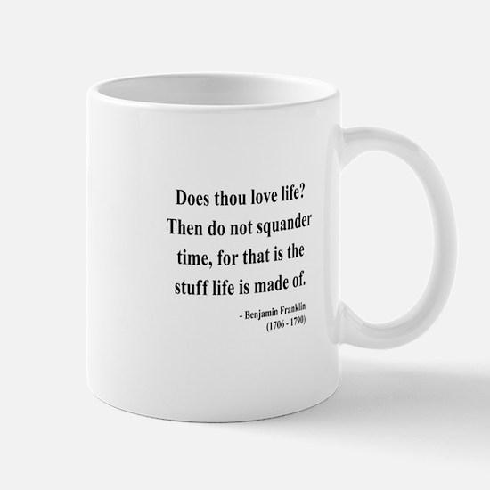 Benjamin Franklin 14 Mug