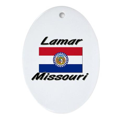 Lamar Missouri Oval Ornament