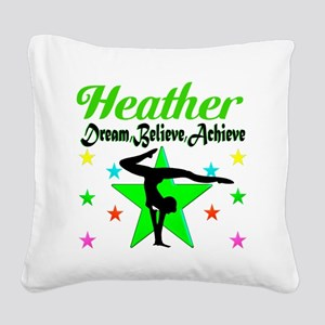 GYMNAST CHAMP Square Canvas Pillow