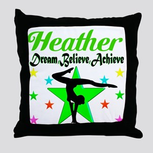 GYMNAST CHAMP Throw Pillow