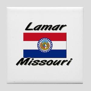 Lamar Missouri Tile Coaster
