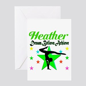 GYMNAST CHAMP Greeting Card