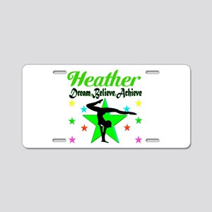 GYMNAST CHAMP Aluminum License Plate