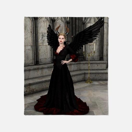 Evil Queen Throw Blanket