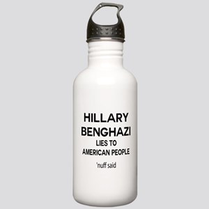 Anti Hillary Benghazi Stainless Water Bottle 1.0L