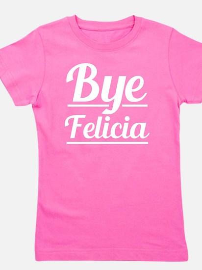 Unique Bye bye Girl's Tee