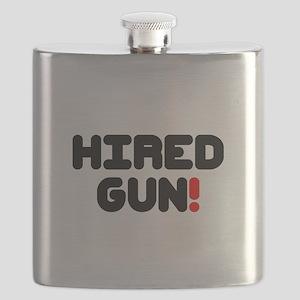 HIRED GUN!- Flask
